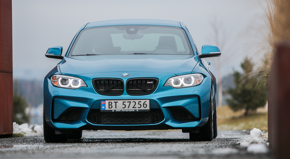BMW M2 forfra
