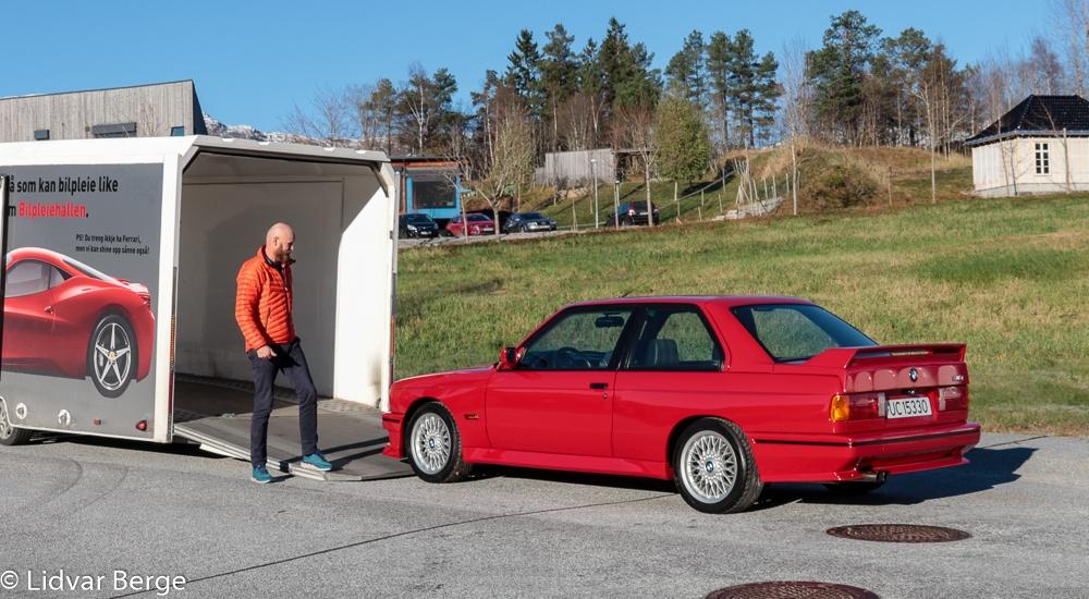 BMW E30 M3 Vilnes Stein Kjetil Holvik